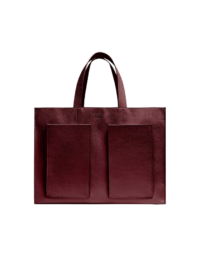 Fields Tote Bordeaux