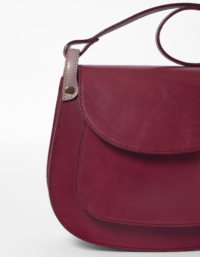 Anglet Burgundy Cross Body Bag 2