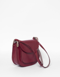 Anglet Burgundy Cross Body Bag 3