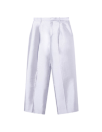 SILK AND WOOL TROUSERS